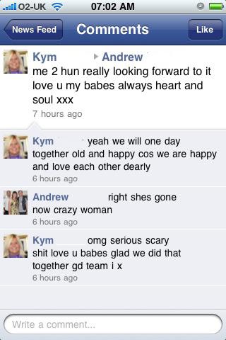 facebookdrama 16 - Kym
