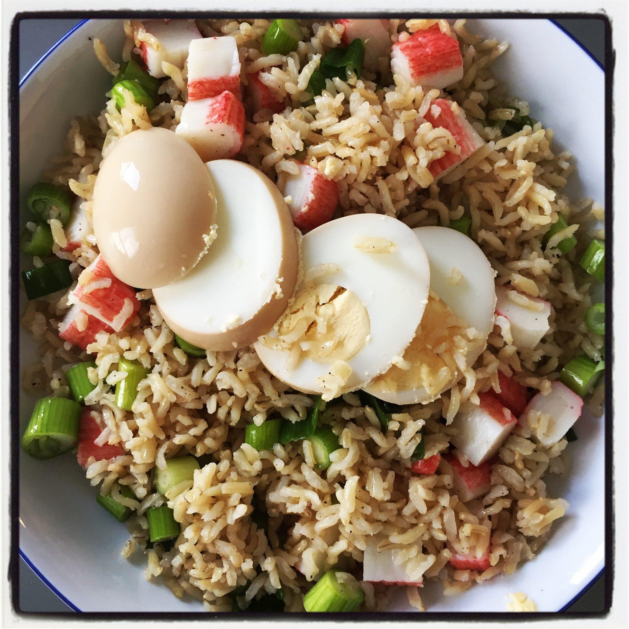 Five minute stir fry rice